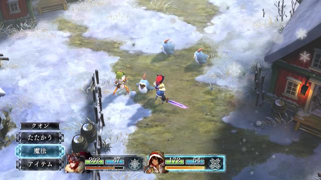いけにえと雪のセツナ ゲーム画面4