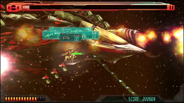 重装機兵レイノス ゲーム画面1