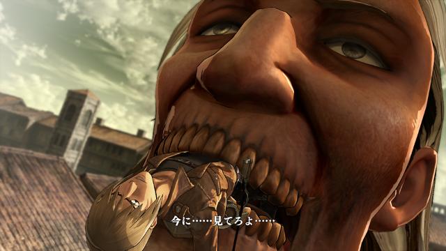 進撃の巨人 ゲーム画面4