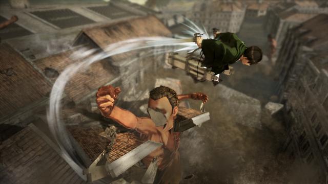 進撃の巨人 ゲーム画面8
