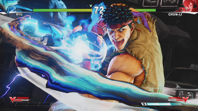STREET FIGHTER V ゲーム画面1