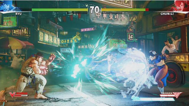 STREET FIGHTER V ゲーム画面2