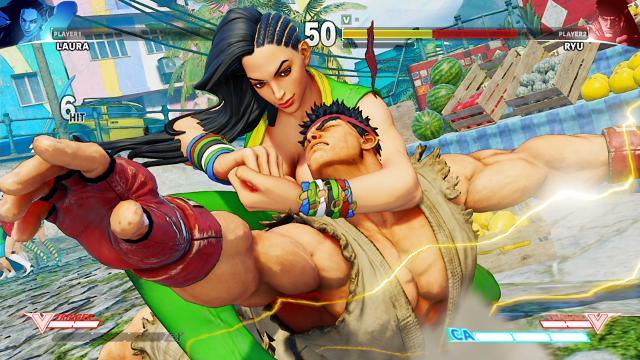 STREET FIGHTER V ゲーム画面3