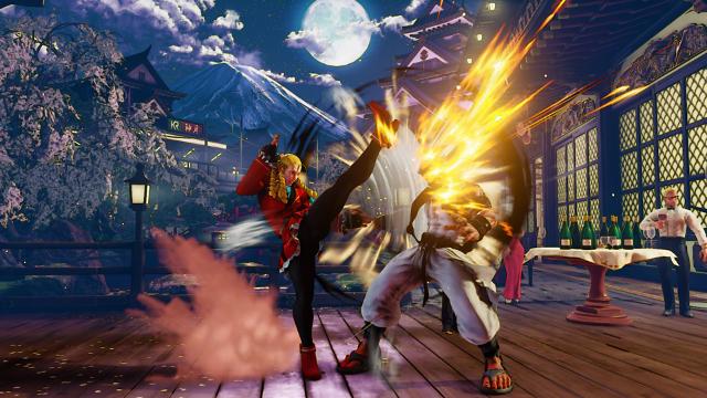STREET FIGHTER V ゲーム画面5