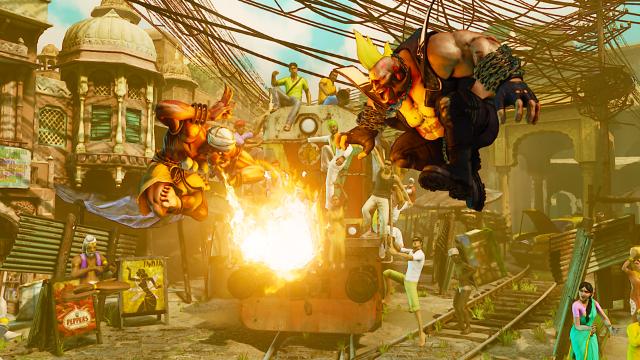STREET FIGHTER V ゲーム画面10