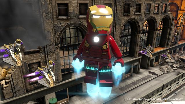 LEGO マーベル アベンジャーズ ゲーム画面4