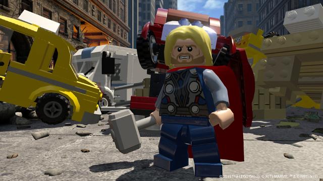LEGO マーベル アベンジャーズ ゲーム画面5