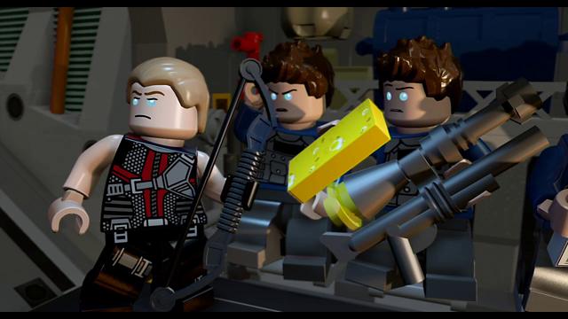 LEGO マーベル アベンジャーズ ゲーム画面7