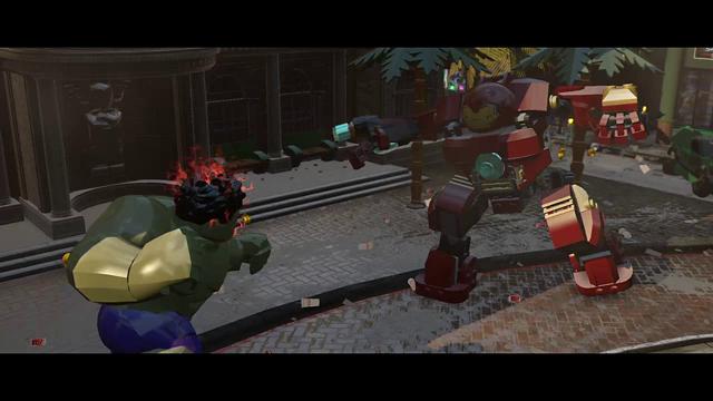 LEGO マーベル アベンジャーズ ゲーム画面9