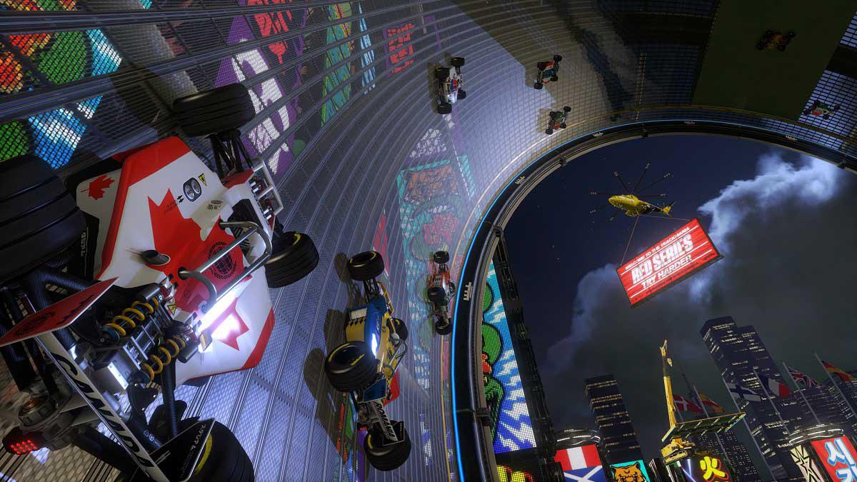 『トラックマニア ターボ』ゲーム画面