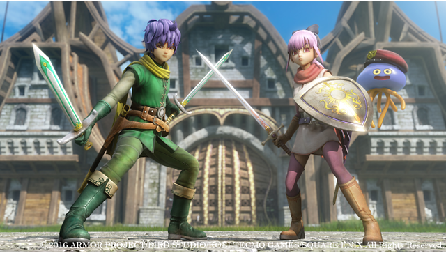 ドラゴンクエストヒーローズII 双子の王と予言の終わり ゲーム画面1