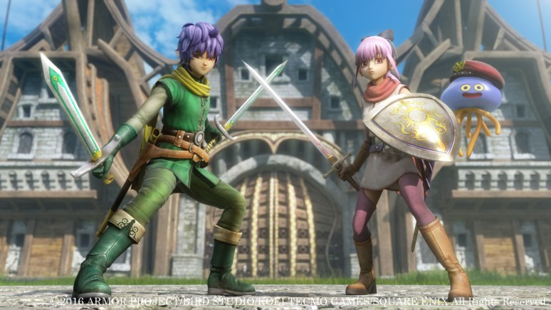 『ドラゴンクエストヒーローズII 双子の王と予言の終わり』ゲーム画面