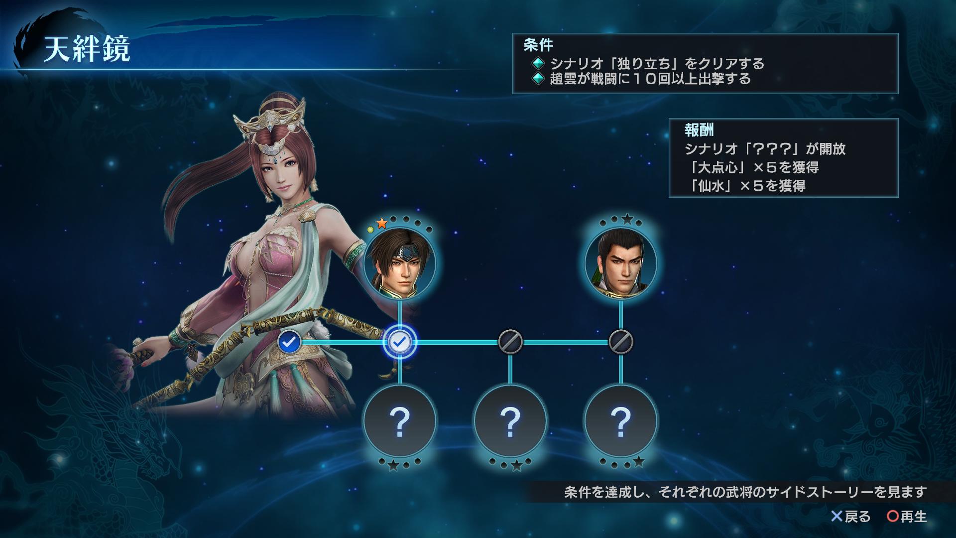 『真・三國無双 英傑伝』ゲーム画面