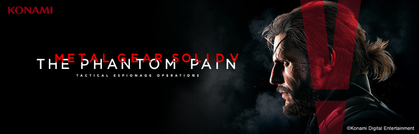 METAL GEAR SOLID V: THE PHANTOM PAIN バナー画像
