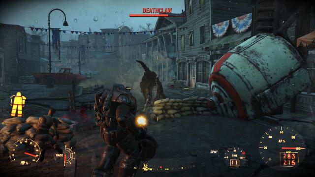Fallout 4 ゲーム画面2