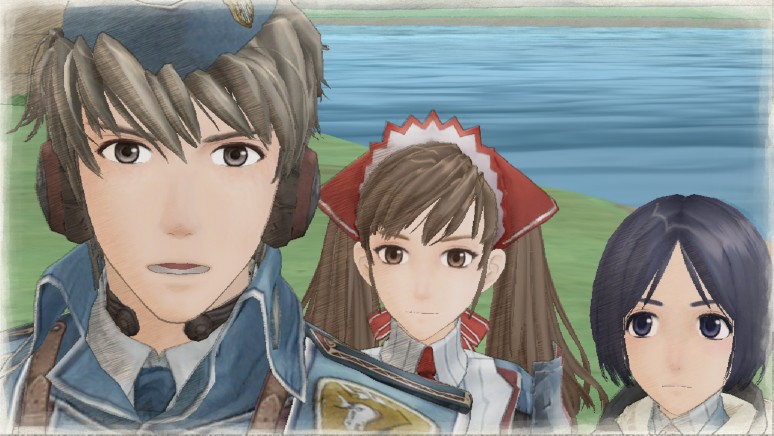 『戦場のヴァルキュリア リマスター』ゲーム画面