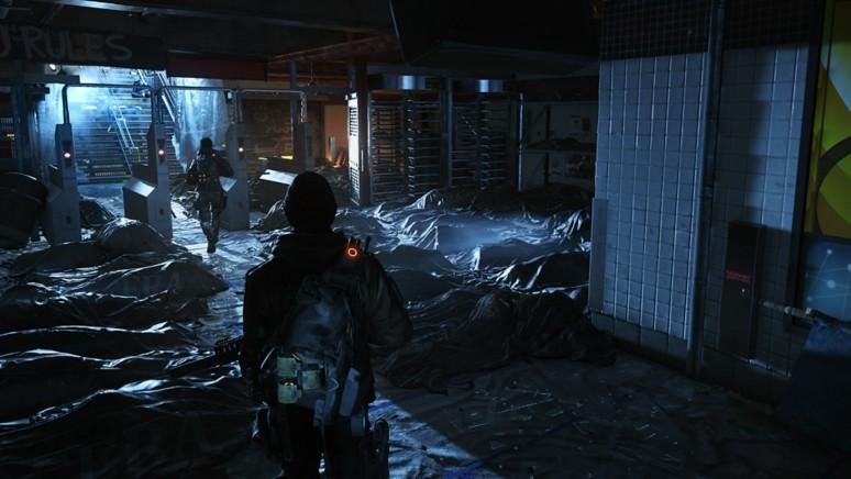 『ディビジョン』ゲーム画面