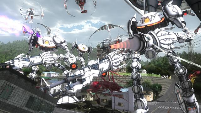 地球防衛軍4.1 THE SHADOW OF NEW DESPAIR ゲーム画面2