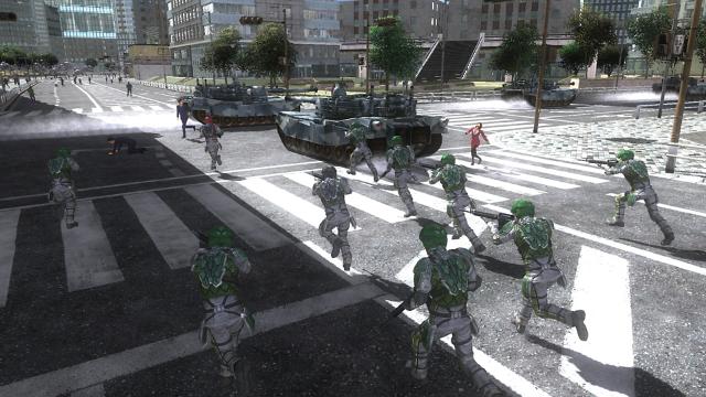 地球防衛軍4.1 THE SHADOW OF NEW DESPAIR ゲーム画面4