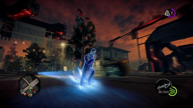 セインツロウ IV 超完全版 ゲーム画面2