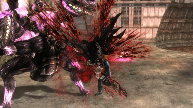 GOD EATER RESURRECTION ゲーム画面2