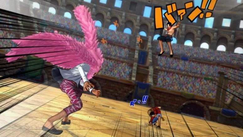 『ワンピース バーニングブラッド』ゲーム画面