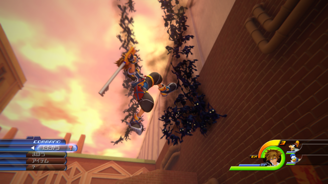 KINGDOM HEARTS III ゲーム画面3