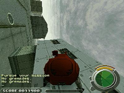 攻殻機動隊 GHOST IN THE SHELL ゲーム画面5