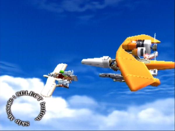SKY GUNNER ゲーム画面1