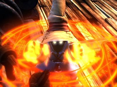 ファイナルファンタジーIX ゲーム画面1