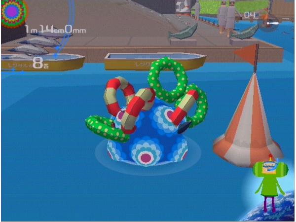 塊魂 ゲーム画面1