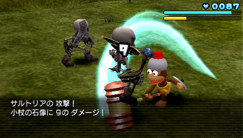 サルゲッチュ ピポサル戦記 ゲーム画面3