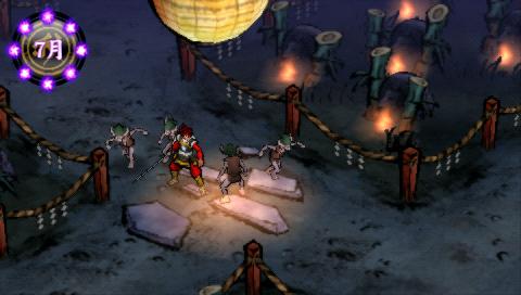 俺の屍を越えてゆけ PSP® the Best ゲーム画面3