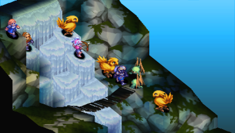ファイナルファンタジータクティクス 獅子戦争 ゲーム画面5