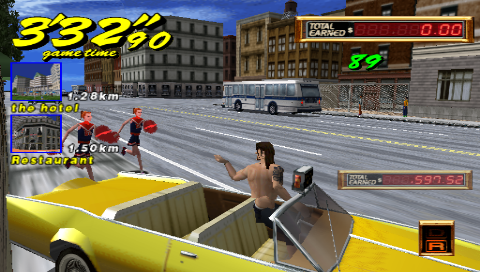 Crazy Taxi Double Punch ゲーム画面5