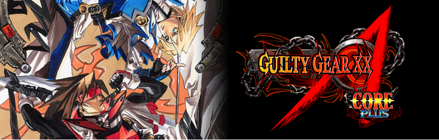GUILTY GEAR XX ΛCORE PLUS バナー画像
