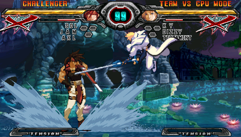 GUILTY GEAR XX ΛCORE PLUS ゲーム画面2
