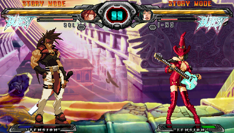 GUILTY GEAR XX ΛCORE PLUS ゲーム画面3