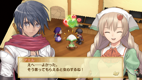 シャイニング・ハーツ PSP® the Best ゲーム画面4