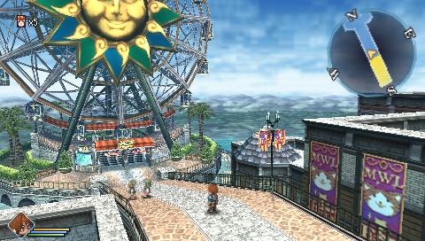 英雄伝説 碧の軌跡 ゲーム画面1