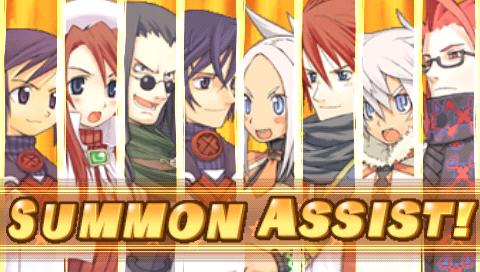 サモンナイト4 ゲーム画面1
