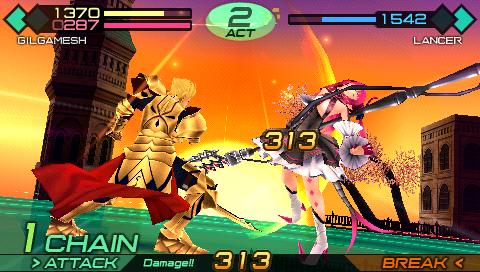 フェイト/エクストラ CCC PSP® the Best ゲーム画面2