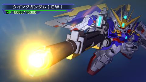 SDガンダム ジージェネレーション オーバーワールド PSP® the Best ゲーム画面4
