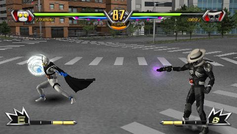仮面ライダー 超クライマックスヒーローズ ゲーム画面3