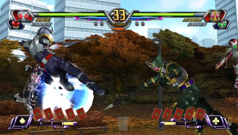 仮面ライダー 超クライマックスヒーローズ ゲーム画面5