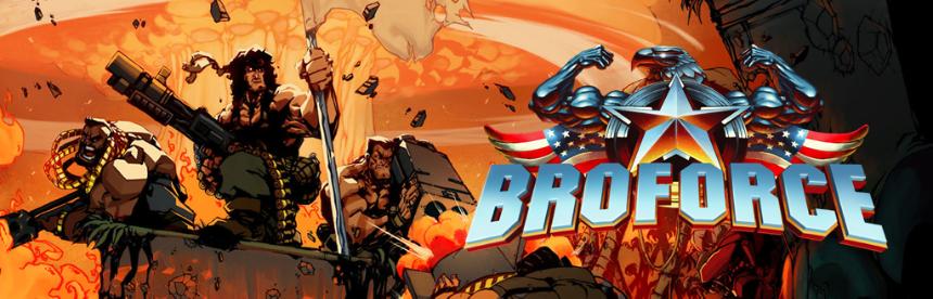 Broforce バナー画像