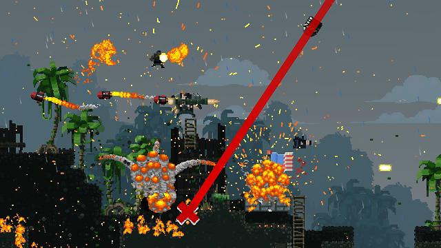 Broforce ゲーム画面5