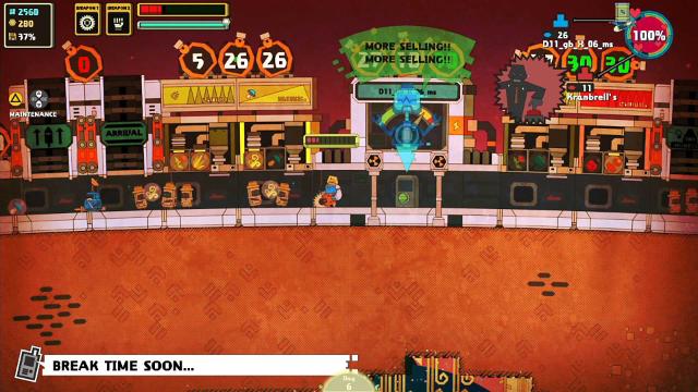 Nom Nom Galaxy ゲーム画面3