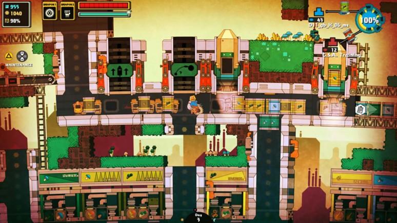 『Nom Nom Galaxy(ノムノムギャラクシー)』ゲーム画面