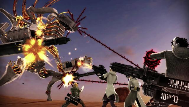 フリーダムウォーズ PlayStation Vita the Best ゲーム画面1
